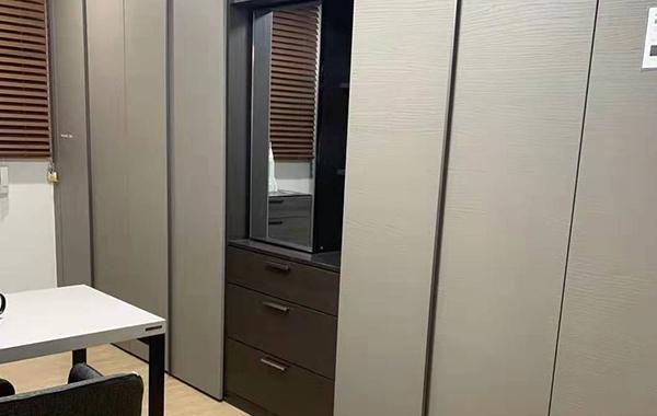 木饰面柜安装